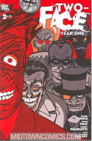 Two-Face Year One #2