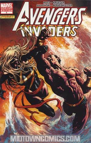 Avengers Invaders #5 Incentive Mike Deodato Variant Cover