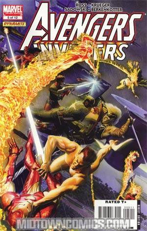 Avengers Invaders #5 Regular Alex Ross Cover