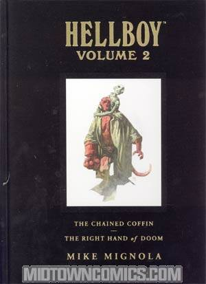 Hellboy Library Edition Vol 2 Chained Coffin And Right Hand Of Doom HC