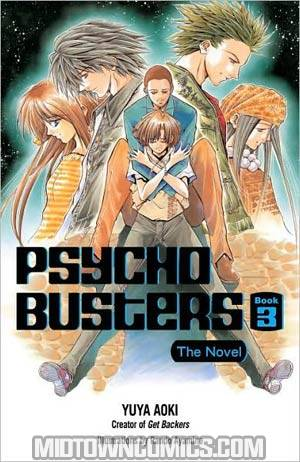 Psycho Busters Novel Book 3 TP