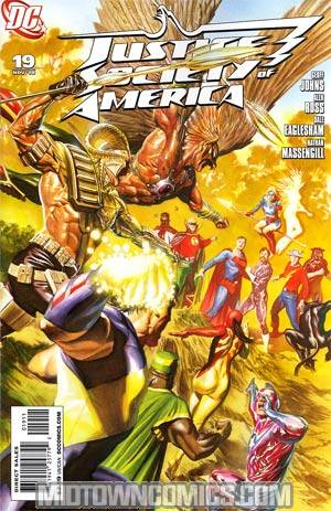 Justice Society Of America Vol 3 #19 Cover A Regular Alex Ross Cover
