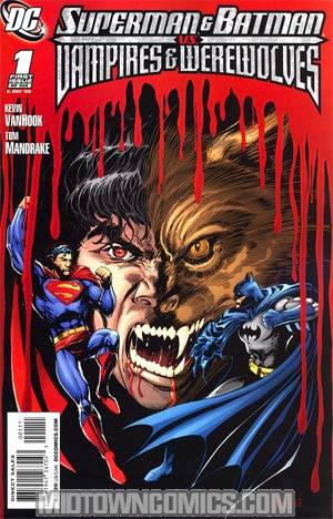 Superman And Batman vs Vampires And Werewolves #1