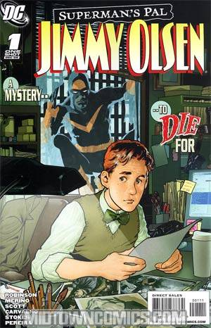 Supermans Pal Jimmy Olsen Special #1 Regular Ryan Sook Cover (New Krypton Tie-In)