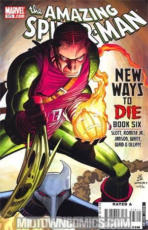 Amazing Spider-Man Vol 2 #573 Cover A Regular John Romita Jr Cover