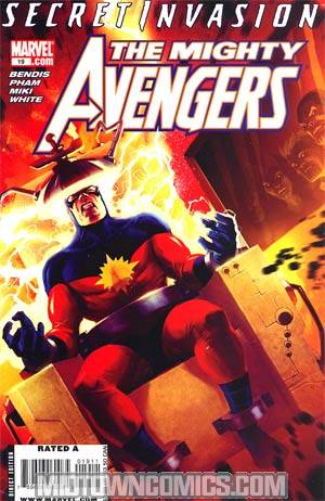 Mighty Avengers #19 (Secret Invasion Tie-In)