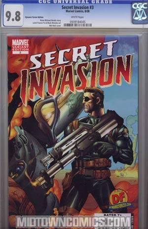 Secret Invasion #3 Cover H DF Exclusive Mel Rubi Variant Cover CGC 9.8
