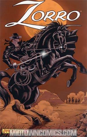 Zorro Vol 6 #8 Matt Wagner Cover