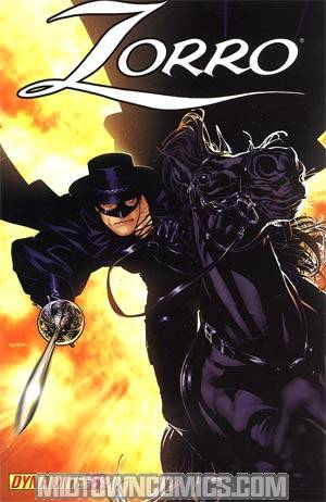 Zorro Vol 6 #8 Ryan Sook Cover