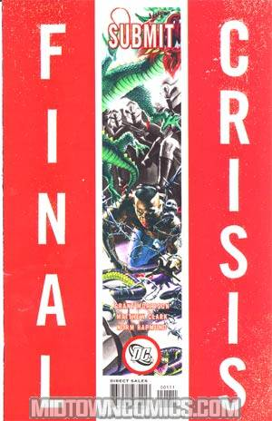 Final Crisis Submit #1 Cover A Rodolfo Migliari Cover