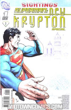 Superman New Krypton Special #1 Regular Gary Frank Cover (New Krypton Part 1)