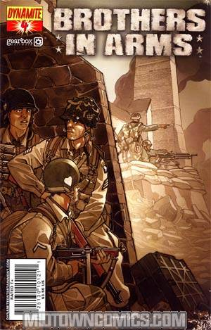 Brothers In Arms #4 Davide Fabbri Cover