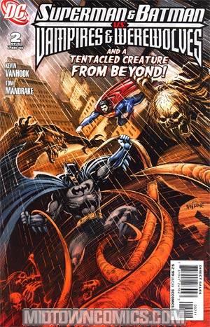 Superman And Batman vs Vampires And Werewolves #2