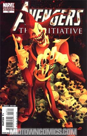 Avengers The Initiative #18 Incentive Zombie Variant Cover (Secret Invasion Tie-In)