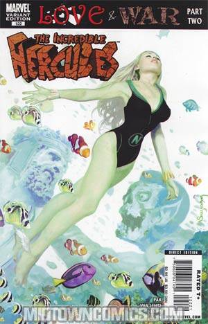 Incredible Hercules #122 Incentive Zombie Variant Cover