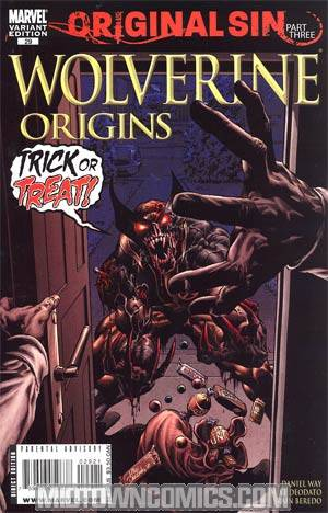 Wolverine Origins #29 Cover B Incentive Mike Deodato Zombie Variant Cover