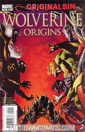 Wolverine Origins #29 Cover A Regular Mike Deodato Cover (Original Sin Part 3)