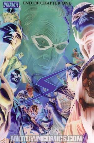 Project Superpowers #7 Cover D Incentive Alex Ross Negative Cover