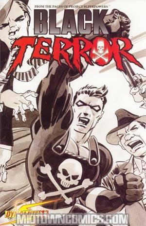 Black Terror Vol 3 #1 Incentive Tim Sale Variant Cover