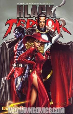 Black Terror Vol 3 #1 Regular Greg Land Cover