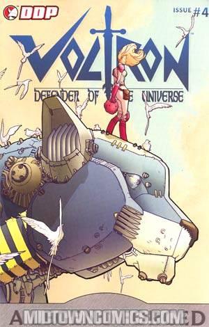 Voltron A Legend Forged #4 Cover B Clem Sauve