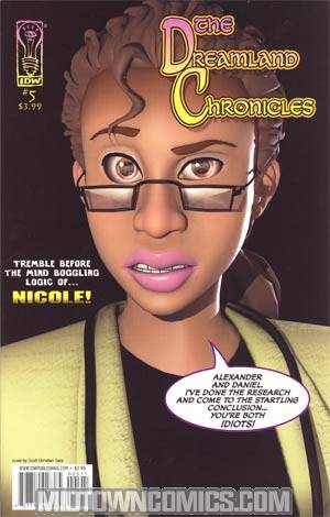 Dreamland Chronicles Vol 2 #5 Cover A Scott Christian Sava