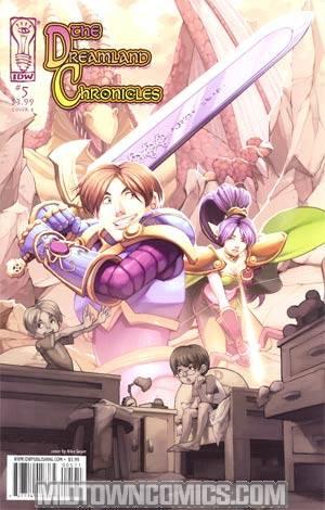 Dreamland Chronicles Vol 2 #5 Cover B Niko Geyer