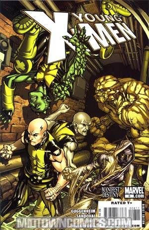 Young X-Men #8 (X-Men Manifest Destiny Tie-In)