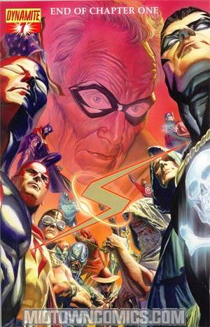 Project Superpowers #7 Cover C Foil