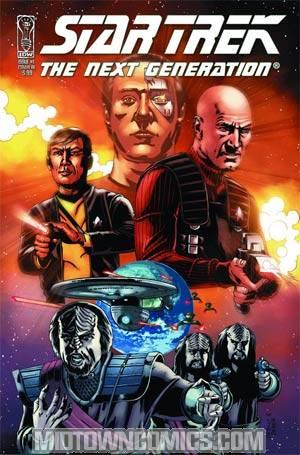Star Trek The Next Generation Last Generation #1 Regular Cover A