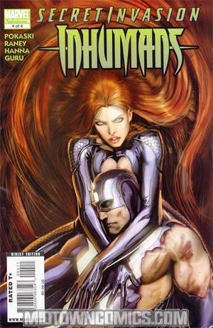 Secret Invasion Inhumans #4