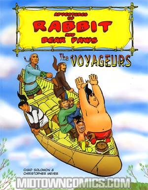 Adventures Of Rabbit And Bear Paws Vol 2 Voyageurs GN