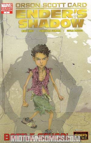 Enders Shadow Battle School #1 Regular Timothy Green III Cover