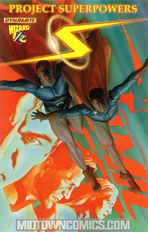 Project Superpowers #1/2 Wizard Exclusive Cover A Reg Alex Ross