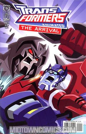 Transformers Animated Arrival #5 Regular Cover A