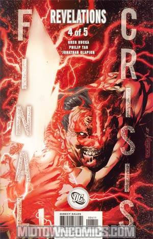 Final Crisis Revelations #4 Cover A Character Cover