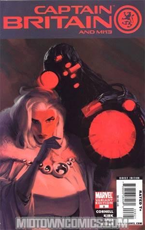 Captain Britain And MI 13 #8 Incentive Villain Variant Cover