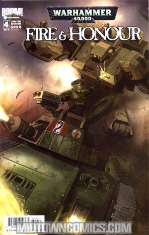 Warhammer 40K Fire & Honor #4 Cover C Incentive Variant Cover