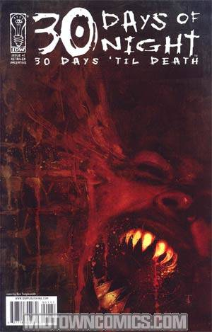 30 Days of Night 30 Days Til Death #1 Cover B Incentive Ben Templesmith Variant Cover