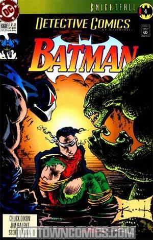 Detective Comics #660 Cover B 2nd Ptg