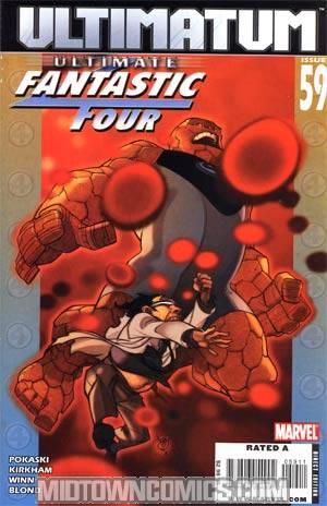 Ultimate Fantastic Four #59 (Ultimatum Tie-In)