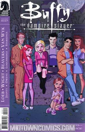 Buffy The Vampire Slayer Season 8 #20 Georges Jeanty Cover