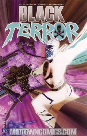 Black Terror Vol 3 #2 Incentive Negative Cover