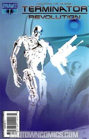 Terminator Revolution #1 Cover C Incentive Negative Variant Cover