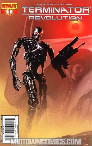 Terminator Revolution #1 Cover A Regular Richard Isanove Cover
