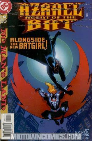 Azrael Agent Of The Bat #56