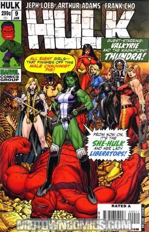 Hulk Vol 2 #9 Regular Arthur Adams Cover