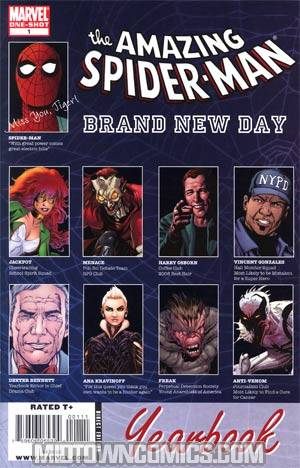Spider-Man Brand New Day Yearbook