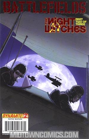 Garth Ennis Battlefields The Night Witches #2 Foil Cover