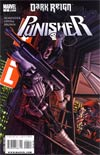 Punisher Vol 7 #4 Target The Hood Cover (Dark Reign Tie-In)
